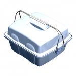 Укладка-контейнер УКП-100-01 для размещения и транспортировки пробирок и флаконов