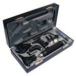 Диагностический набор ri-scope® de luxe®: отоскоп L3 (LED 3,5 B), офтальмоскоп L2 (LED3,5 В/230В), штекерная рукоятка для аккумулятора ri-accu
