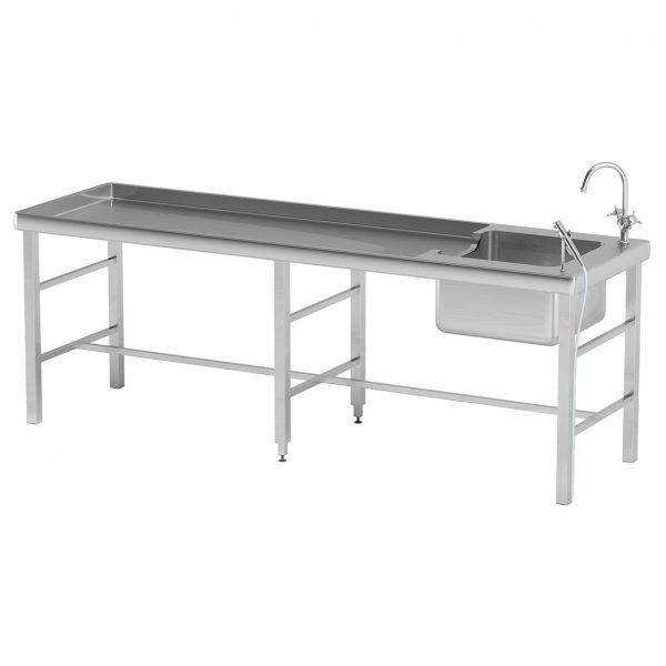 Стол для вскрытий AT-B82 — Нержавеющая сталь