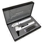 Отоскоп/офтальмоскоп E-scope фиброоптический, LED 3,7 белый в кейсе