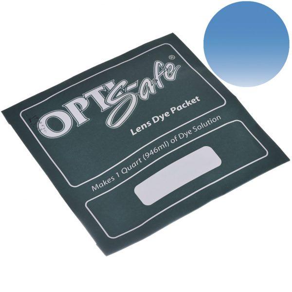 Краска OPTIsafe насыщеный голубой 15212_0009 OptiSafe порошковый краситель для пластиковых линзбыл изобретен научно-исследовательской лабораторией PHANTOM после нескольких лет научных исследований и разработок. Он являются наиболее передовым из всех доступных красителей для линз, обеспечивает наиболее последовательный, равномерный цвет за короткое время. Молекулярный состав красителей позволяет быстро проникать в матрицу линз, соединяясь с линзой и обеспечивая отличную устойчивость к выцветанию. Пластик типа CR-39 (мелованный и немелованный) и линзы из поликарбоната могут быть успешно окрашены красителем OptiSafe. Выбирайте из большого разнообразия цветов для покраски солнцезащитных и корригирующих линз.