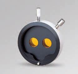 Желтый светофильтр для бинокуляра щелевой лампы