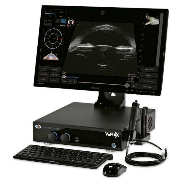 Sonomed VuMaxHD Офтальмологическая ультразвуковая система премиум класса