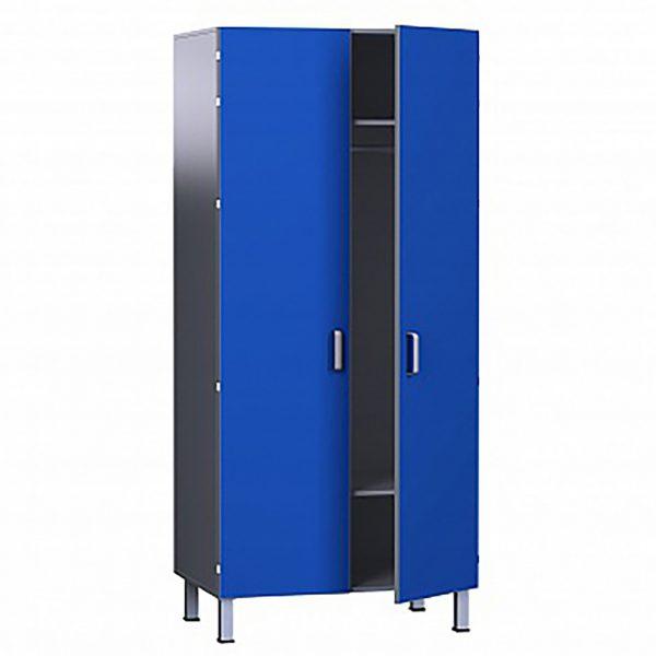 Шкаф медицинский из ДСП в пластике, для одежды БТ-ШО-80, БТ-ШО-80/45