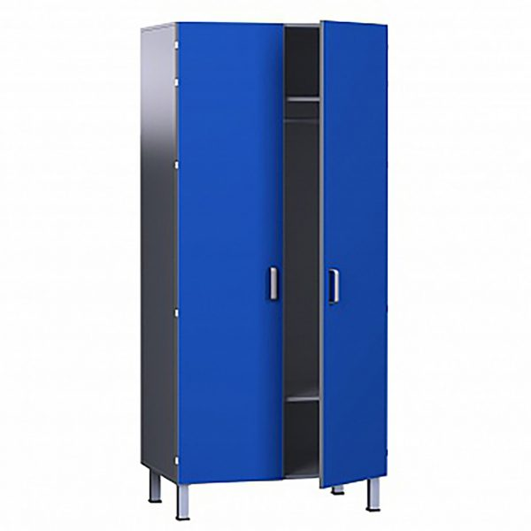 Шкаф медицинский из ДСП в пластике, для одежды БТ-ШО-80