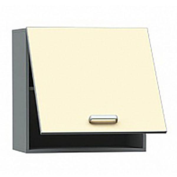 Шкаф медицинский из ДСП в пластике, навесной, с подъемной дверкой БТ-ШНО-40