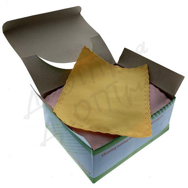 Салфетки для очков упаковка